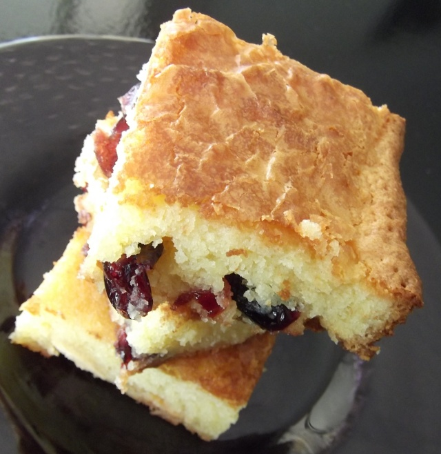 CranberryBlondies