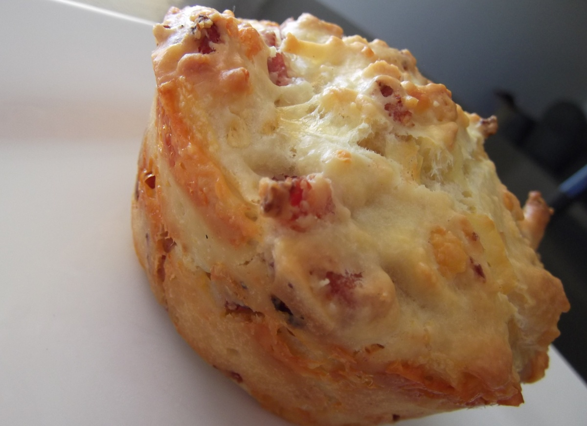 Bacon and Cheese Muffins | Recipe Adaptors