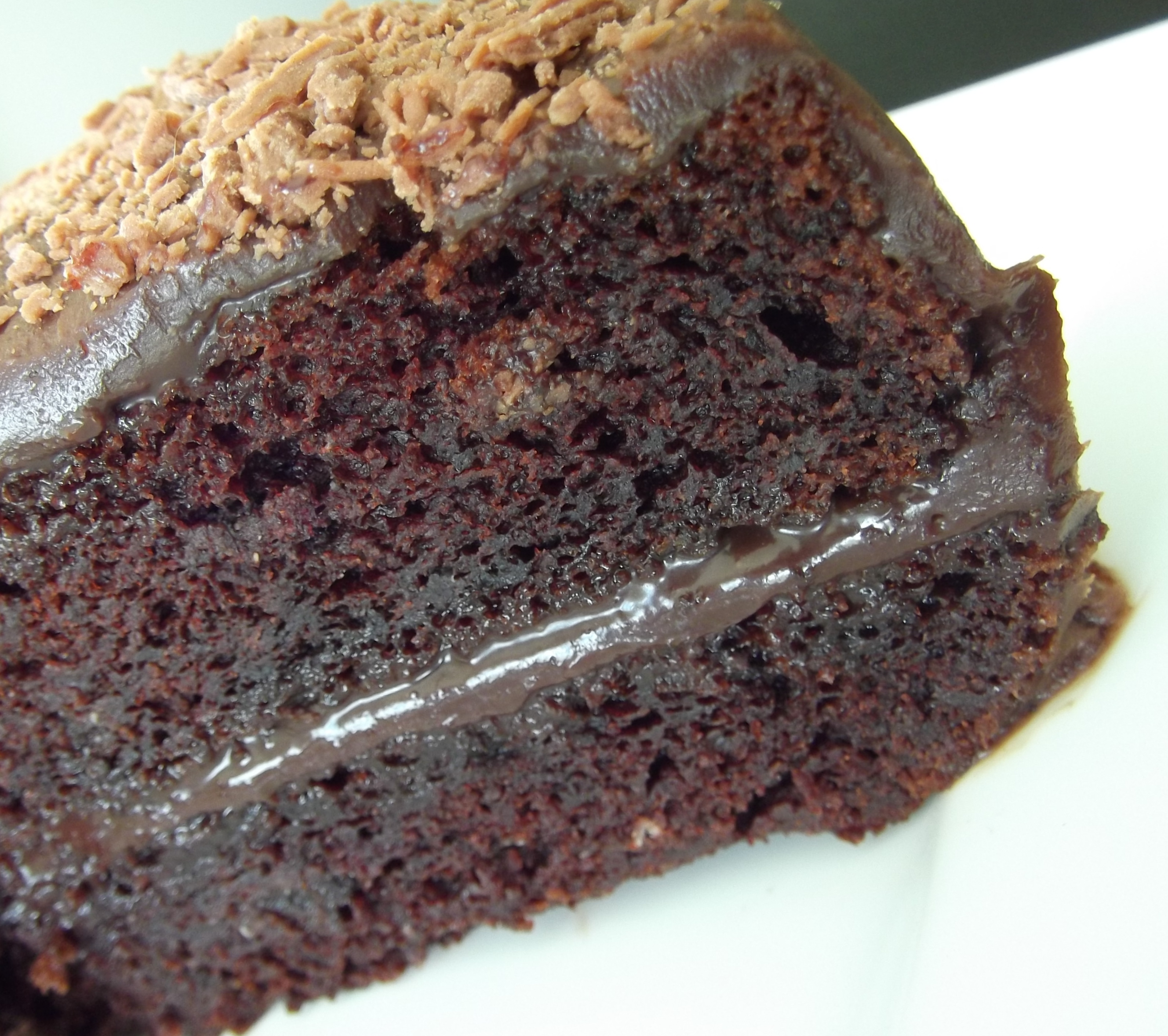 Simple fudge chocolate cake recipe