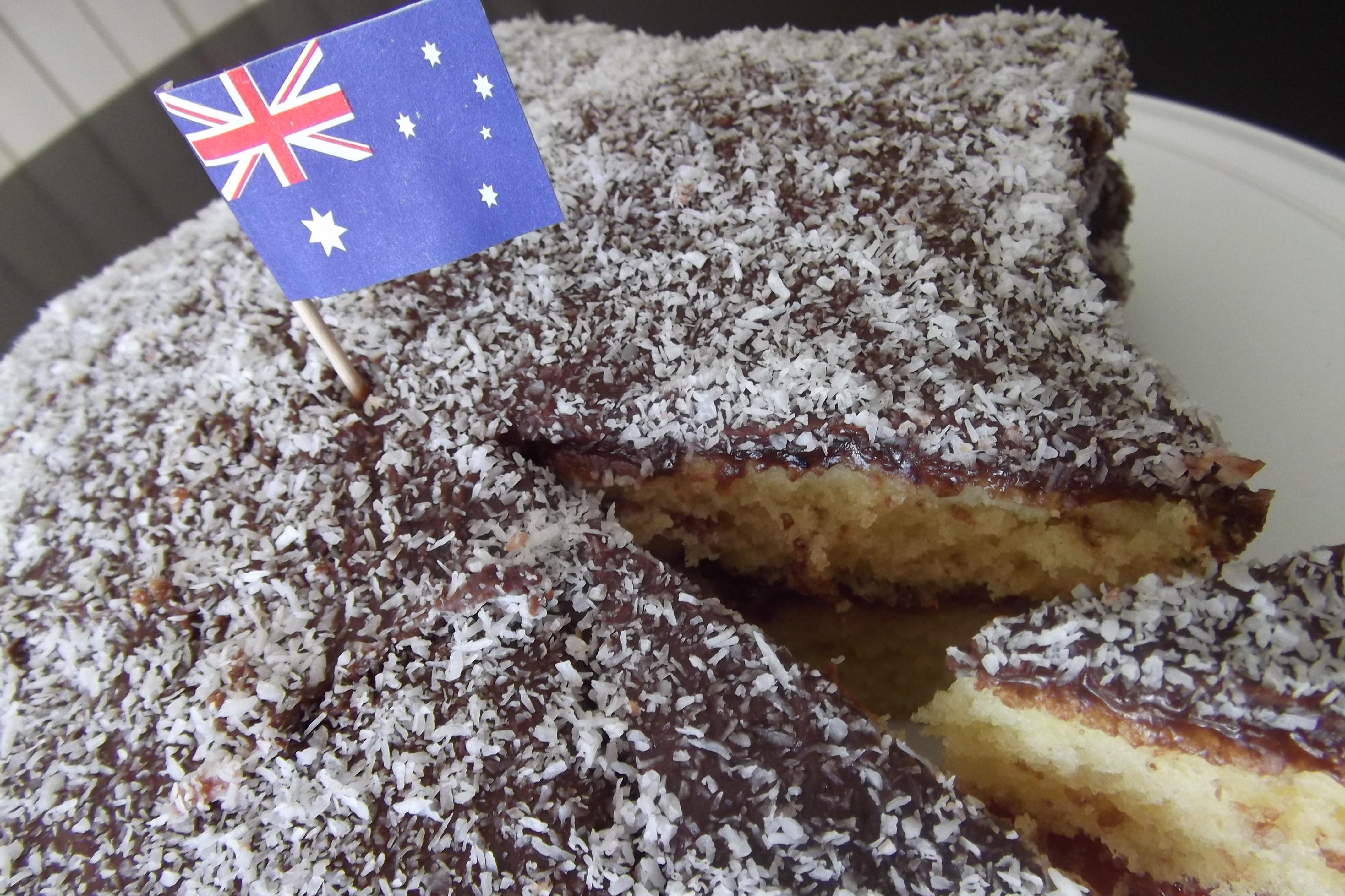 Aussie Lamington Cake Recipe Adaptors