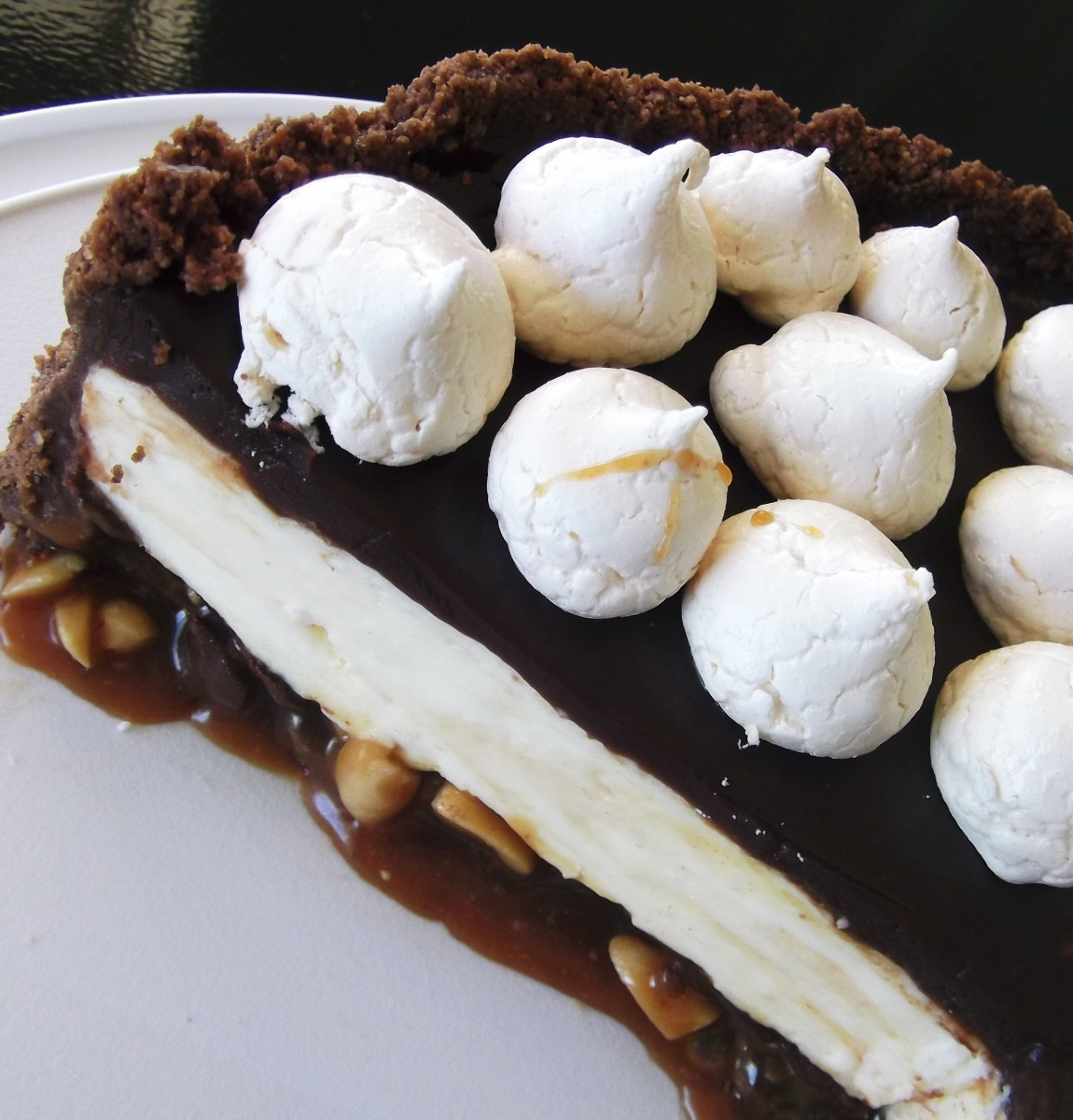 Chocolate Peanut Caramel Nougatine Dunmore Candy Kitchen: Ultimate Cheesecake: Triple Choc With Salted Peanut
