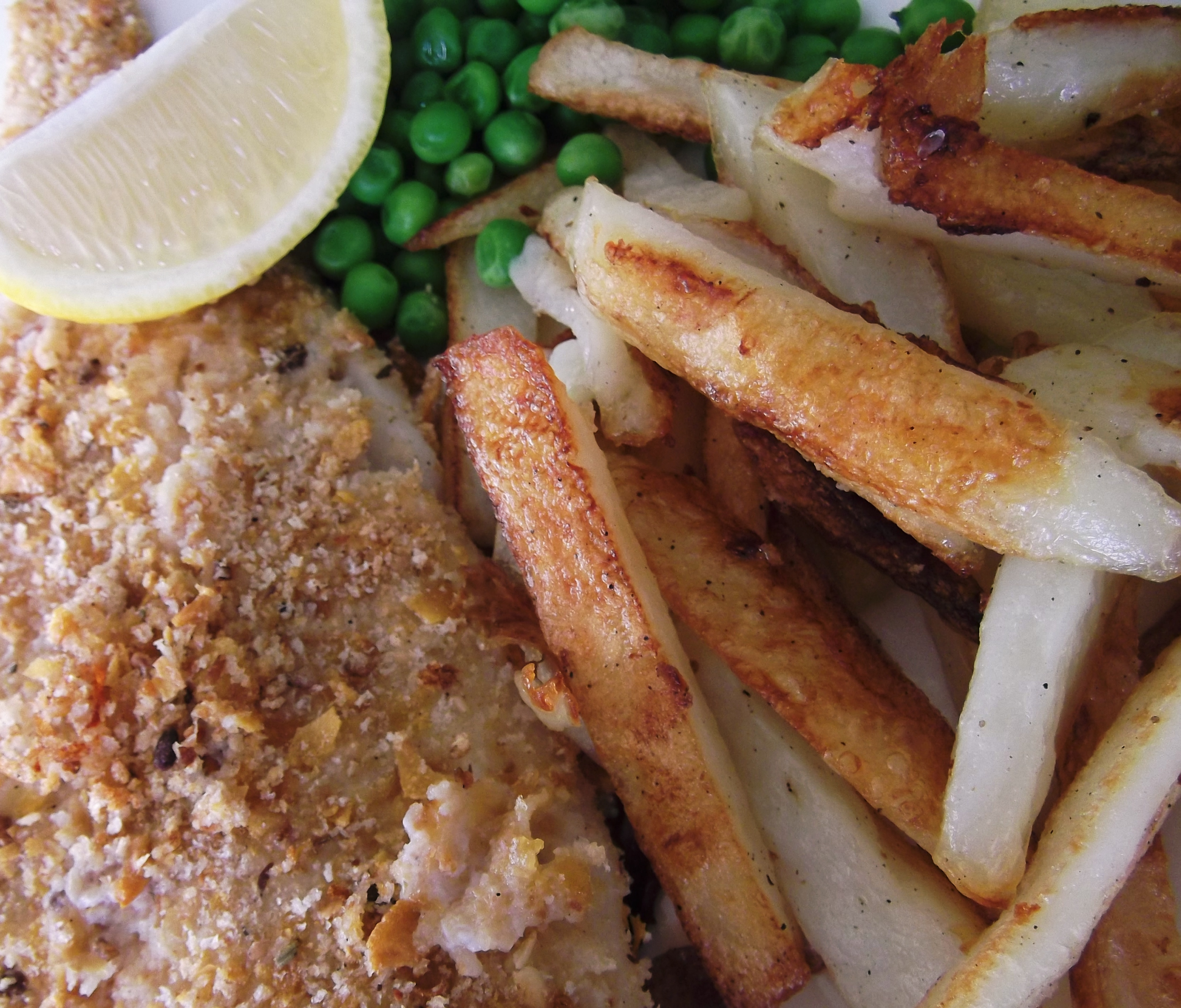 Diamond jubilee oven baked fish and chips recipe adaptors for Oven baked fish recipes