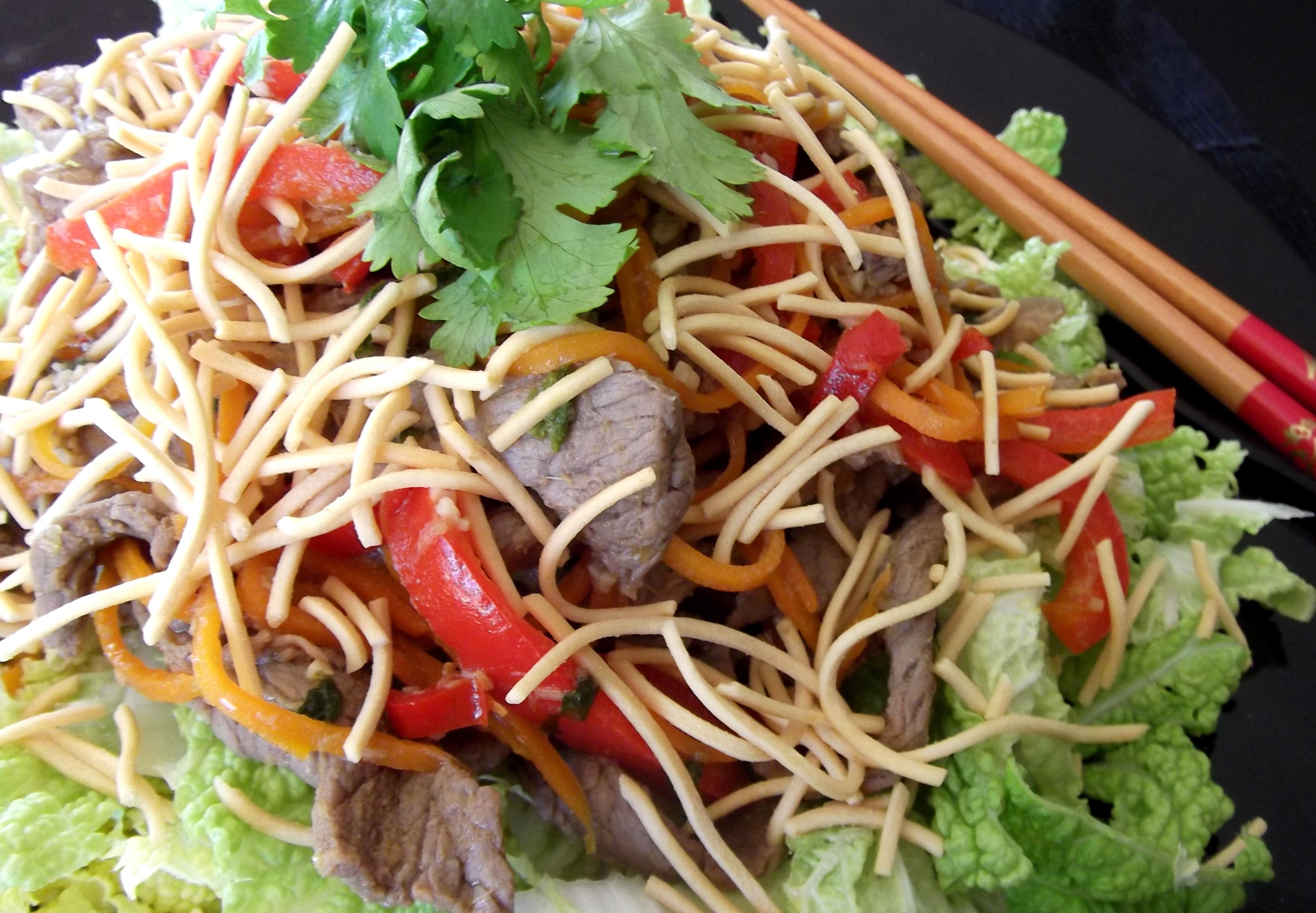 Recipe asian spaghetti noodle salad