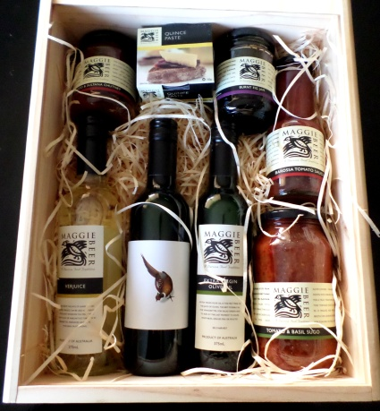 Maggie Beer Gift Box - inside
