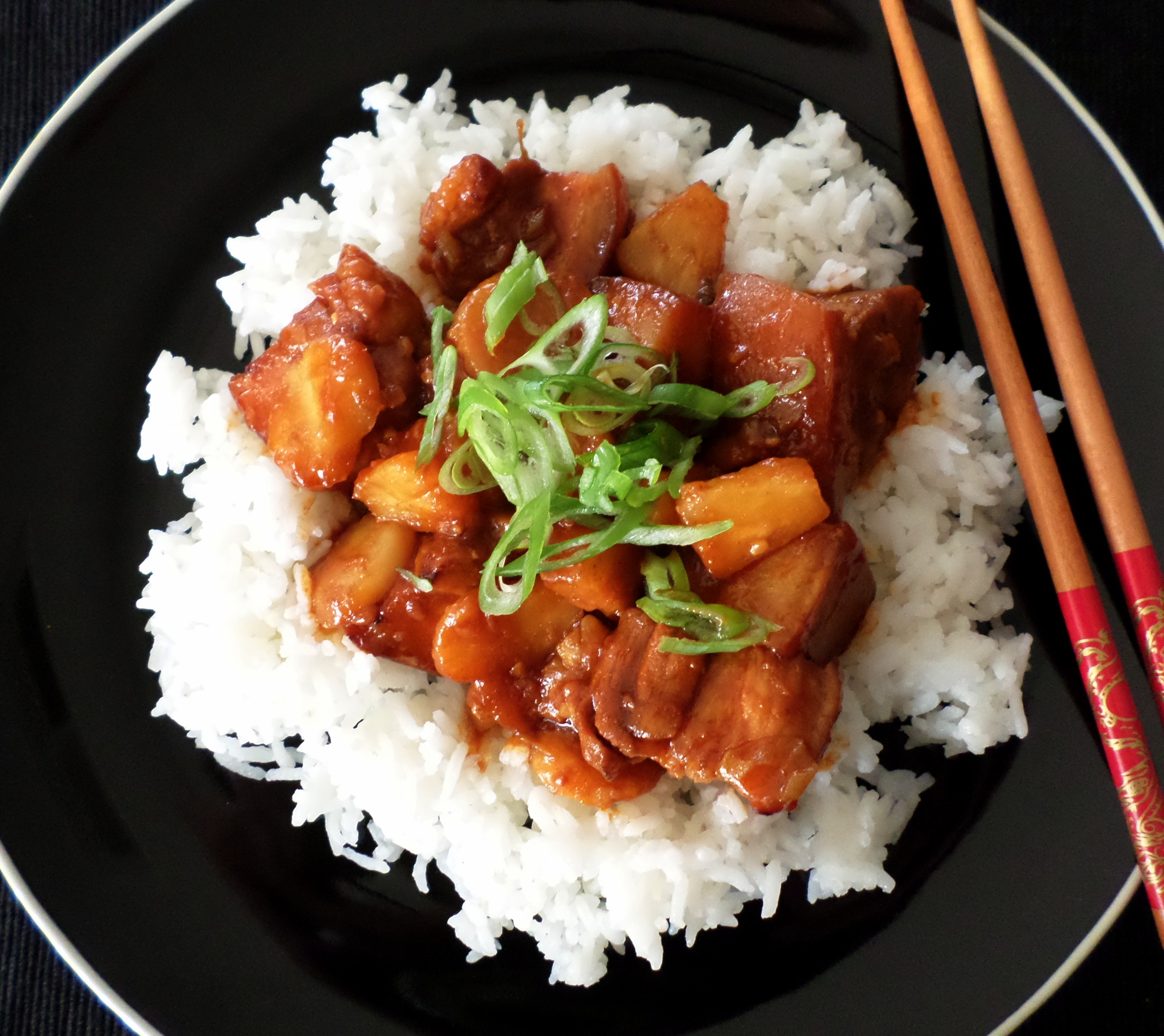 Sweet and sour pork belly with pineapple recipe adaptors sweet and sour pork belly with pineapple forumfinder Images