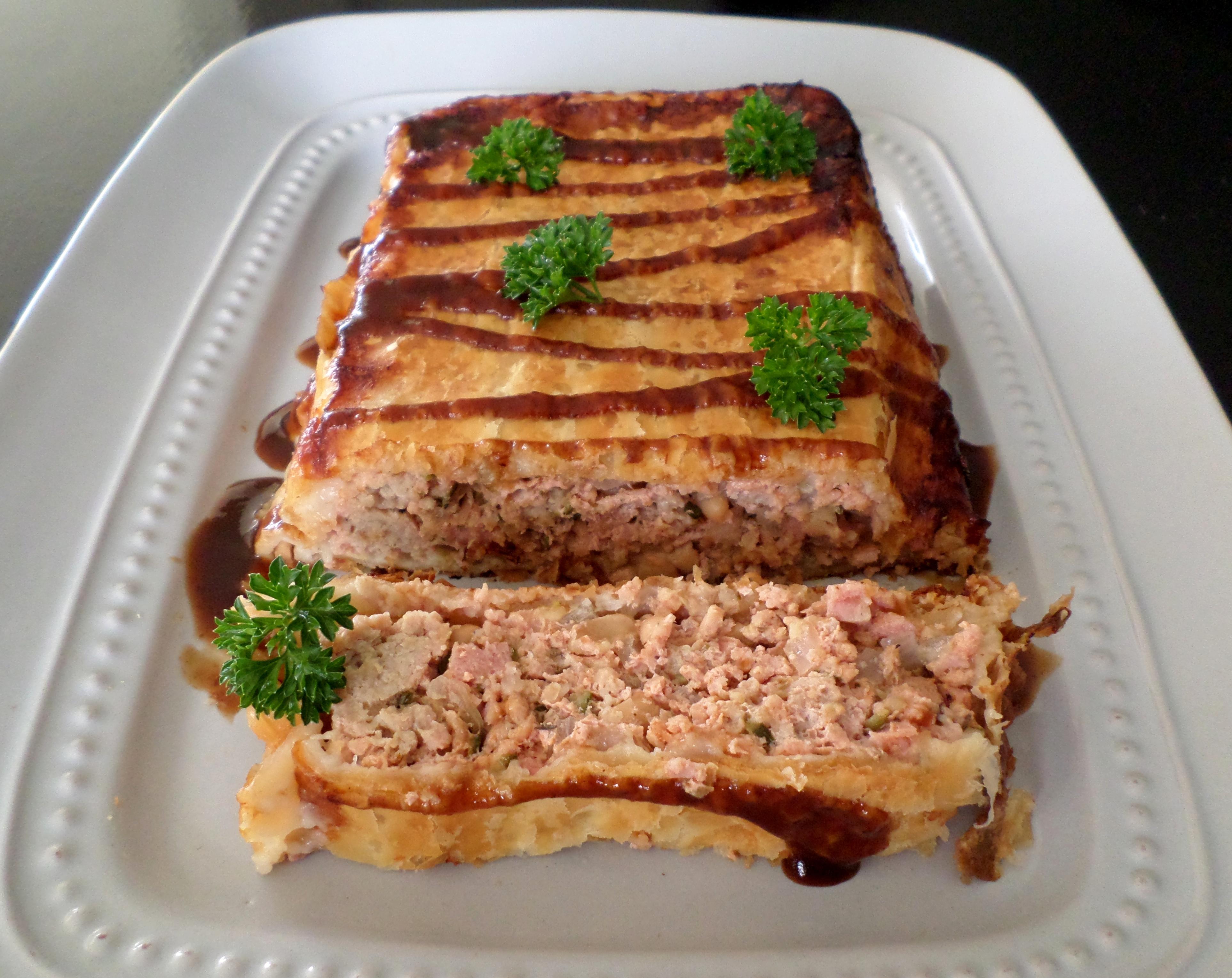 Pork and Baked Bean Meatloaf Pie | Recipe Adaptors