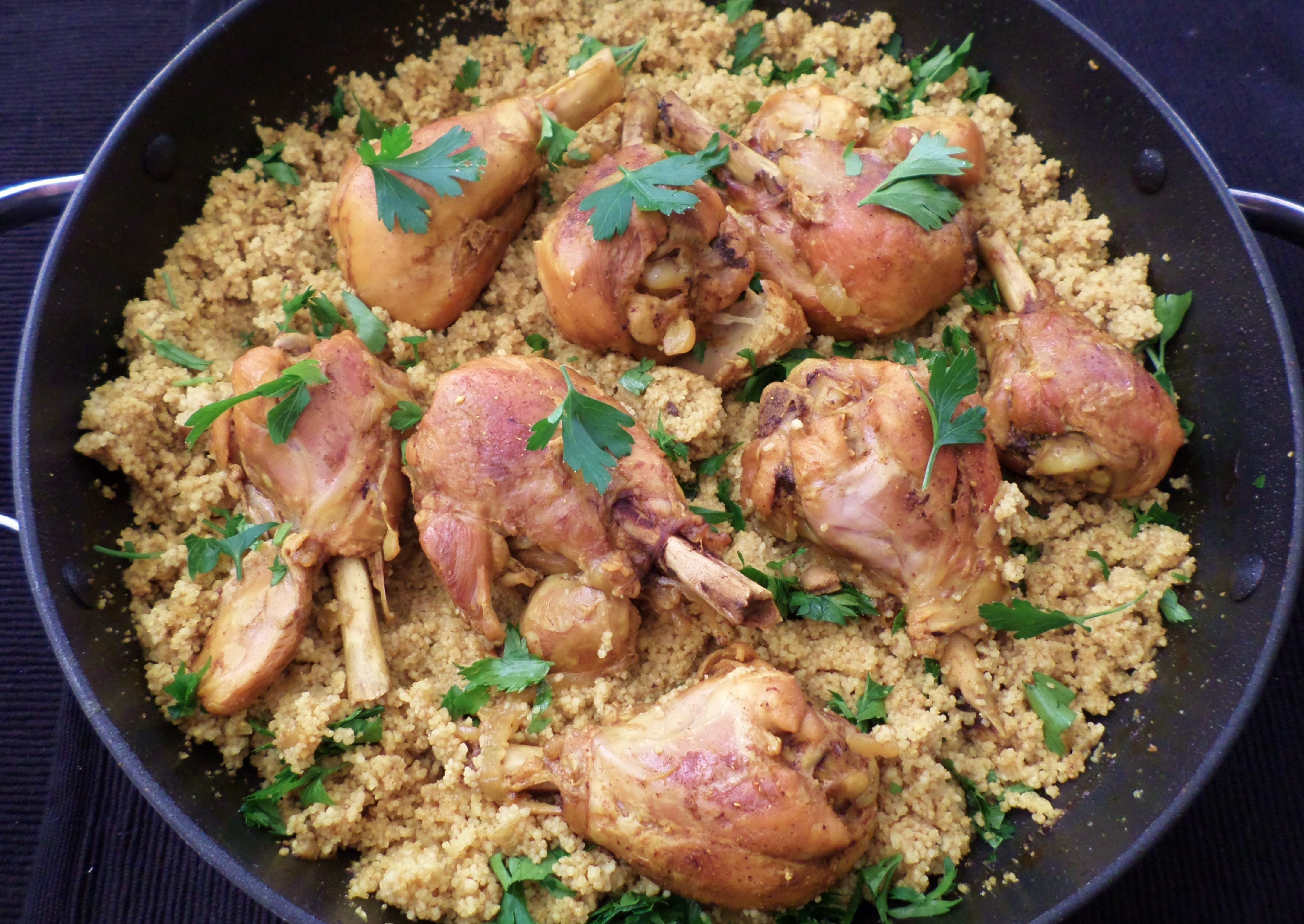 Curried Chicken with Couscous | Recipe Adaptors