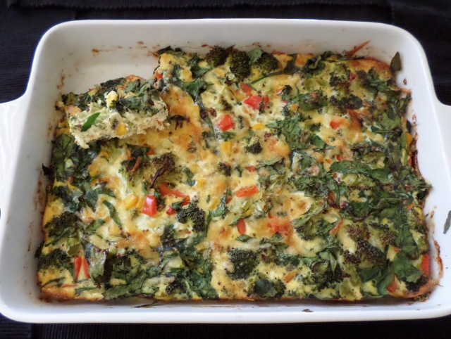 Giant Vegetable Frittata | Recipe Adaptors